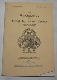 Proceedings Of The Bristol Naturalists' Society Volume 32 Part 3