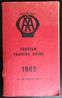 image of The Automobile Association Foreign Touring Guide 1962