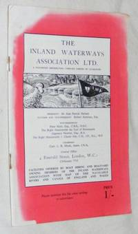 Facilities Offered by Boat Hiring and Boatyard Owning Members of the Inland Waterways Association...
