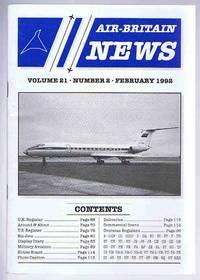 Air-Britain News Volume 21 Number 2 February 1992