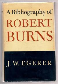 A Bibliography of Robert Burns