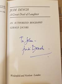 Judi Dench: A Great Deal of Laughter (SIGNED by Judi Dench)