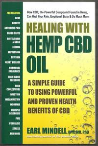 image of Healing with Hemp CBD Oil.  A Simple Guide to Using Powerful and Proven Health Benefits of CBD