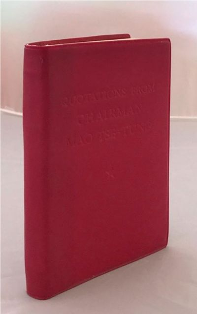 Mao Tse- Tung. Quotations from Chairman Mao Tse-Tung Little Red Book 1966 First English Edition. Poc...