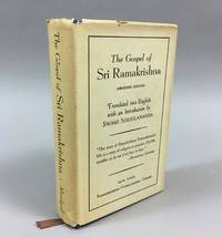 The Gospel of Sri Ramakrishna: Abridged Edition. [Originally recorded in Bengali by M, a disciple of the Master; tr. by Swami Nikhilananda.] by Nikhilananda - Hardcover - Third printing - 1974 - from DuBois Rare Books (SKU: 004418)