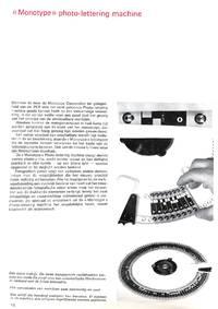 Monotype Mededelingen no.2-3, December 1963.