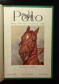 POLO Magazine - 1931, Volume V with 8 Bound Issues
