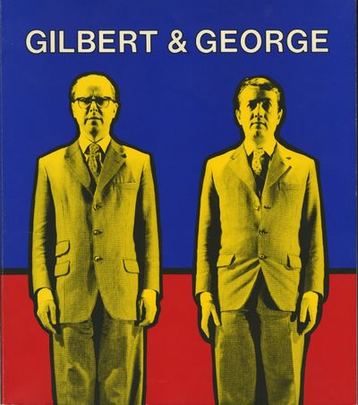 Baltimore: The Baltimore Museum of Art, 1984. First edition. Gilbert & George. 4to., 143 pp., fronti...