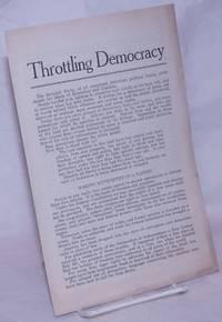 image of Throttling democracy