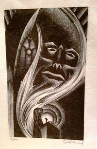 FAUST Portfolio title: This Portfolio contains a set of prints (one of forty-four sets) from six wood blocks engraved by Lynd Ward to illustrate Alice Raphael's translation of FAUST and proofed by him in December 1930