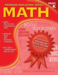 image of Math: Grade K (Premium Education Series)