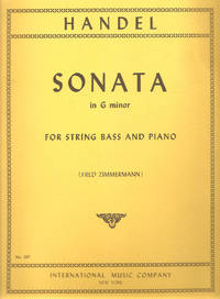 Handel: Sonata in G minor for String Bass and Piano