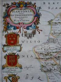 Hantonia sive Southantonensis Comitatus vulgo Hant-Shire