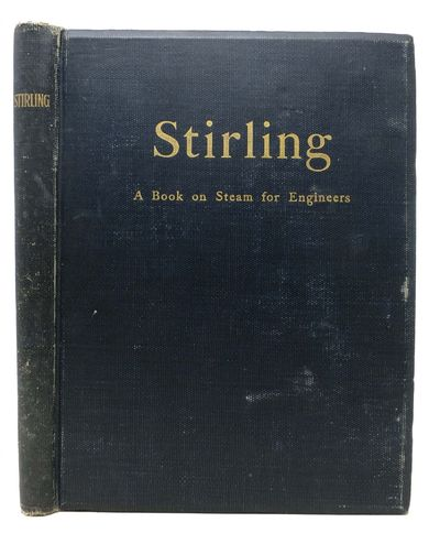 New York: The Stirling Consolidated Boiler Company, 1906. Later edition. Black cloth binding with gi...