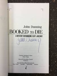 image of BOOKED TO DIE [SIGNED]