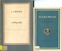 image of L. Urwick: A Bibliography