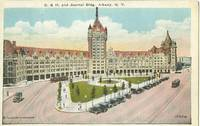 D & H. and Journal Building, Albany New York 1910s unused Postcard