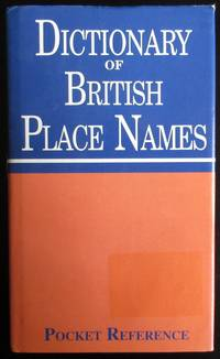 image of Dictionary of British Place Names (Pocket Reference) Comprehensive list of British place names and their meanings.