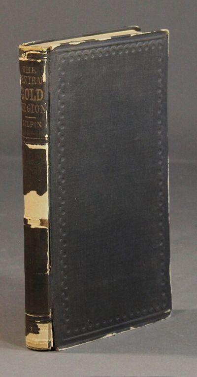 Philadelphia & St. Louis: Sower, Barnes & Co. and E. K. Woodward, 1860. 8vo, pp. 194; 6 folding maps...