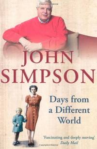 image of Days from a Different World: A Memoir of Childhood