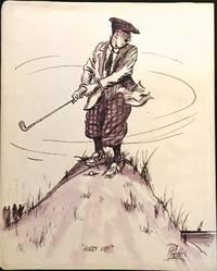 Eight Amusing Cartoons of Golfers