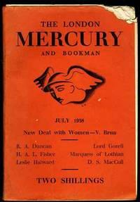 LONDON MERCURY AND BOOKMAN July 1938