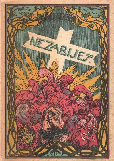 Prague: Družina �sl. legioná�ů, . Large octavo (24.3 × 17.2 cm). Publisher's pictor...