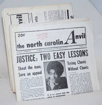 North Carolina Anvil: a weekly newspaper of politics and the arts [four issues]