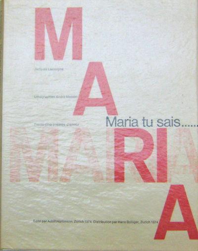 Zurich: Adolph Hurlimann, 1974. First edition. Paperback. Fine. 35 love poems, letterpress-printed b...