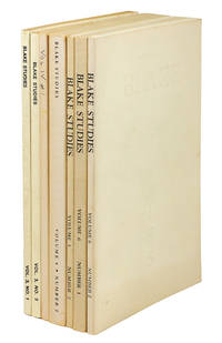 Blake Studies Volumes 3/1-2; 4/1-2; 5/2; 6/1-2.