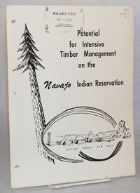 image of Potential for intensive timber management on the Navajo Indian Reservation, Arizona and New Mexico, 1967