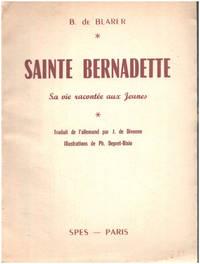 image of Sainte bernadette   sa vie racontée ux jeunes