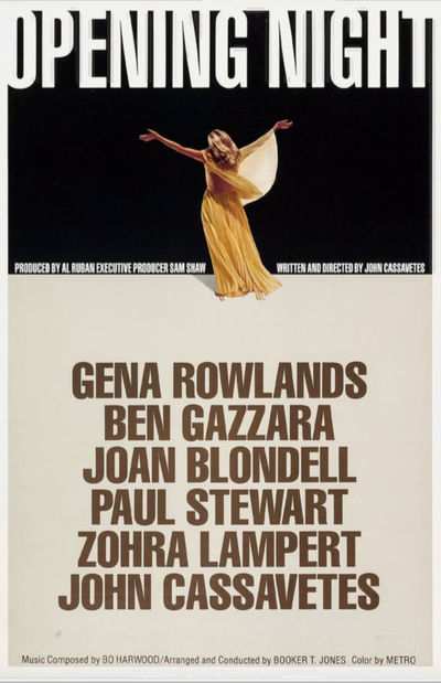 Beverly Hills, CA: Faces, 1977. Original one sheet poster for the 1970 film, issued by John Cassavet...
