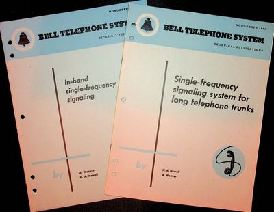 : Bell Telephone Laboratories, Inc, 1955. First Separate Edition. Wraps. Near Fine. First Separate E...