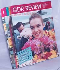 image of GDR Review, 1988, Feb, Mar, Apr, Aug, Nov, magazine from the German Democratic Republic