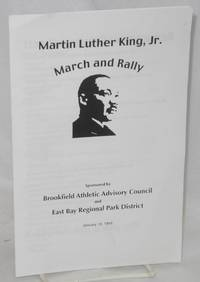 image of Martin Luther King, Jr. March & Rally sponsored by Brookfield Athletic Advisory Council and East Bay Regional Park District, January 18, 1999