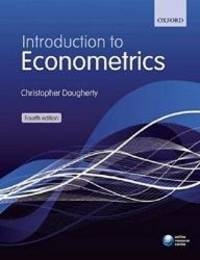 Introduction To Econometrics, 4/e by Christopher Dougherty - Paperback - 2011-06-07 - from Books Express (SKU: 0199650500n)