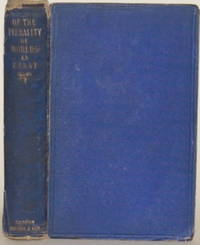 OF THE PLURALITY OF WORLDS:  An Essay; Also, a Diaglogue on the Same  Subject by [Whewell, William] - 1854
