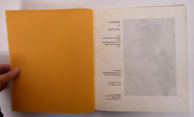 Saint Paul, MN: Minnesota Museum of Art, 1971. Paperback. VG. White wraps with black spine lettering...