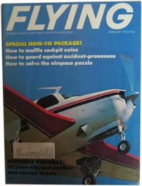 Flying Magazine. January, 1972. Vol. 90, No. 1