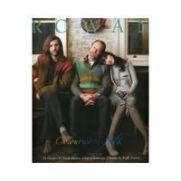 ROWAN, Colourscape Folk. 16 Designs by Sarah Hatton using Colourscape Chunky by Kaffe Fassett