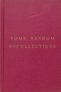 KNOPF, ALFRED A. Some Random Recollections. An informal talk made at the  Grolier Club, New York,...
