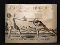 image of Italian Rapier Combat; Ridolfo Capo Ferro