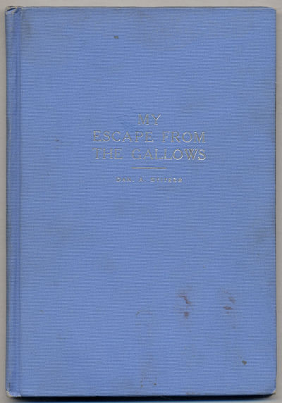 Baltimore: McLean Company, 1916. Hardcover. Very Good. First edition. 36pp. Blue cloth. Slight soili...