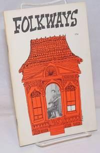 image of Folkways: a magazine of international folklore; issue 3