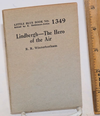 Girard, KS: Haldeman-Julius Company, 1929. 64p., wraps, very good; 3.5x5 inches. Little Blue Book #1...