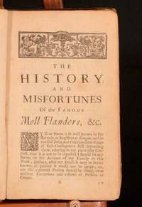 The Fortunes and Misfortunes of the famous Moll Flanders &c