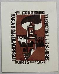 image of Ex-libris Argentine. Congrès Paris 1962