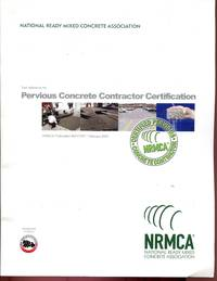 Text Reference for Pervious Concrete Contractor Certification by Matt Offenberg by Matt Offenberg...