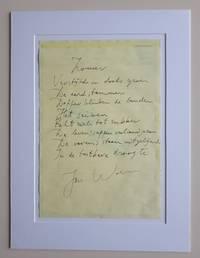 Zomer - handwritten poem / handgeschreven gedicht